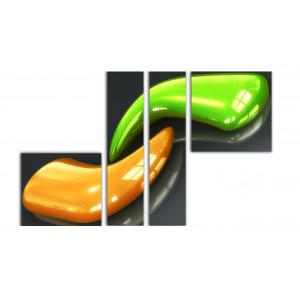 Оранжевый клык - Зеленый клык
