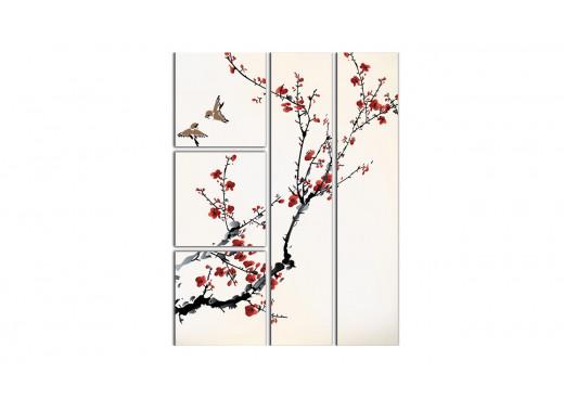 Птицы и сакура