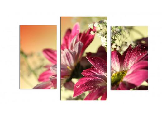 Мягкая композиция из цветов