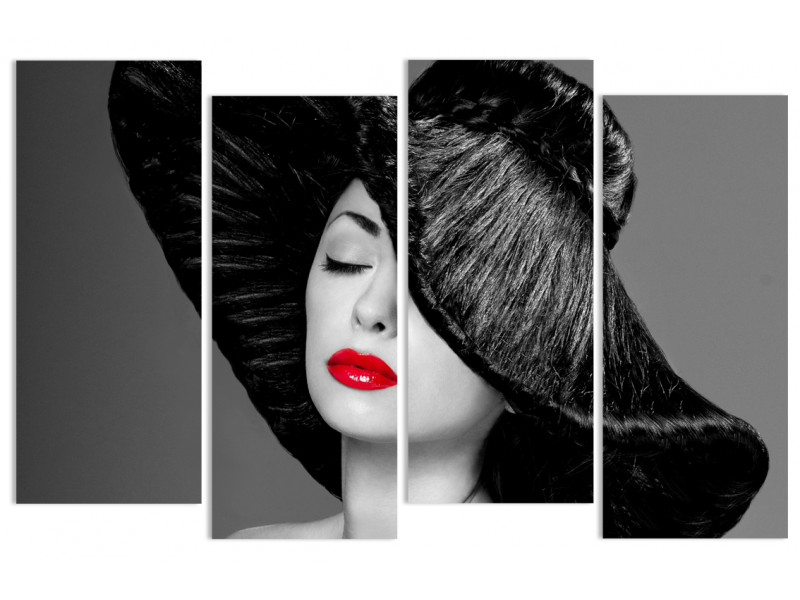 "Модульная картина - ""Роскошная шляпа"""