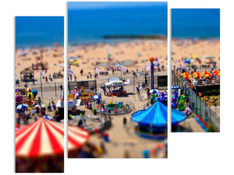 """Модульная картина - """"Пляж"""""""