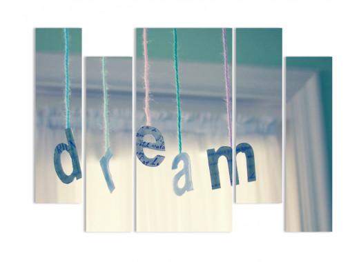 """Модульная картина - """"Воздушные мечты"""""""