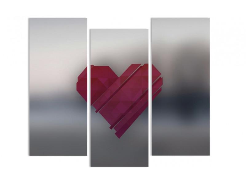 """Модульная картина - """"Цифровая любовь"""""""