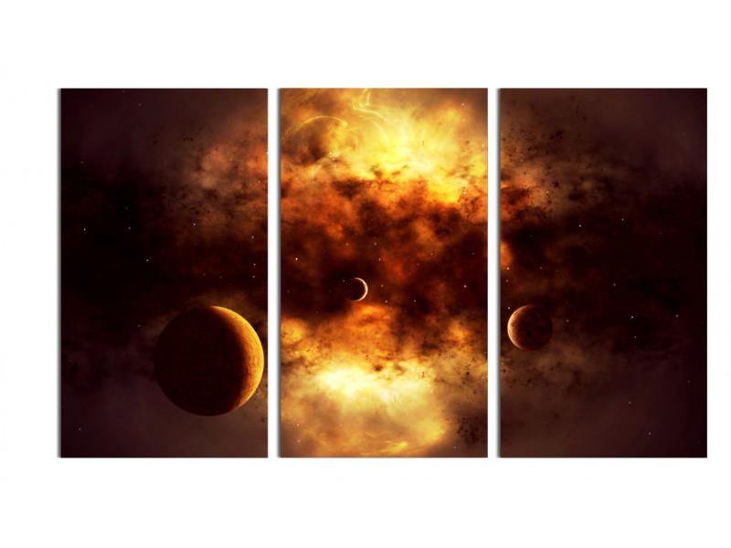 Темное облако, пожирающее планеты