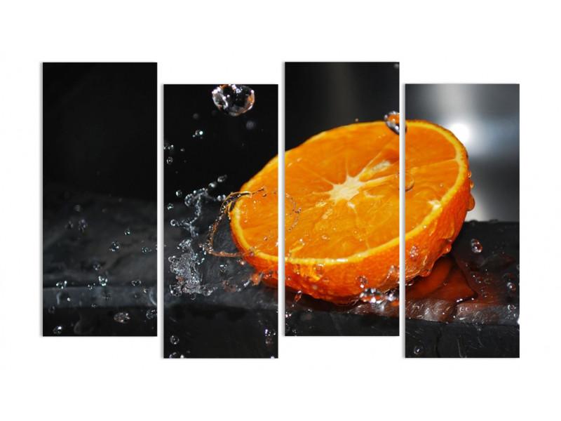 """Модульная картина - """"Сочный апельсин"""""""