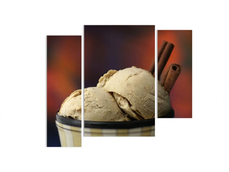 """Модульная картина - """"Шоколадное мороженное"""""""